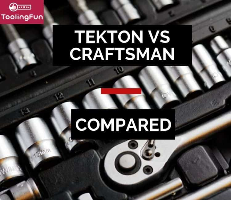 Tekton vs Craftsman: From sockets to wrenches or general tool kits, I'll be talking about these two brands.