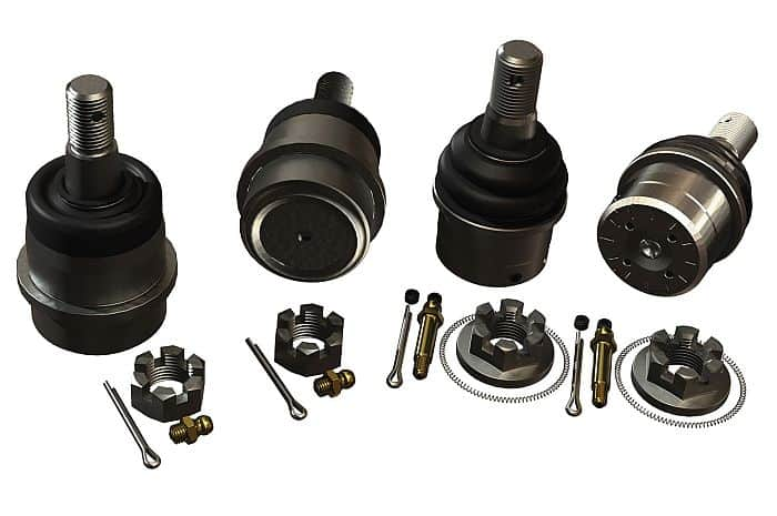 Terraflex ball joints for Jeep JK or TJ: a few words on what to know.