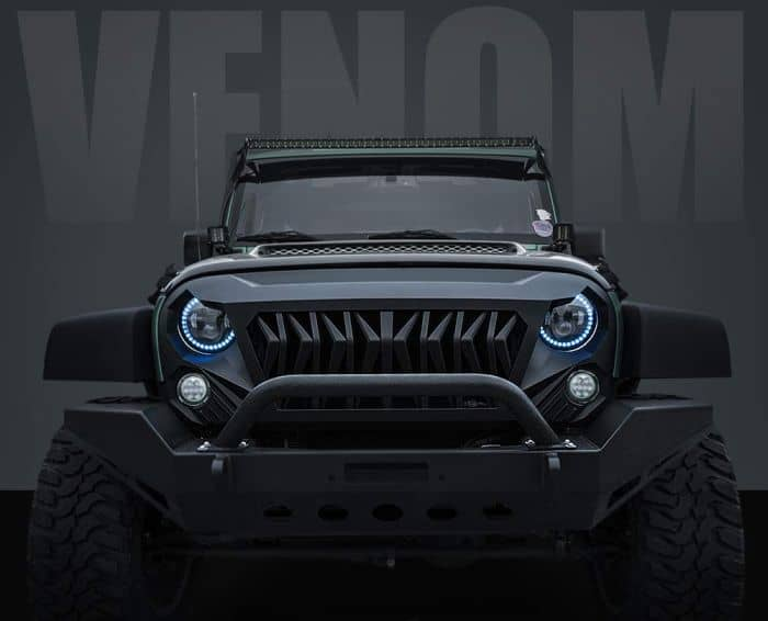 Cool Jeep JK accessories or mods? A grille is a must!