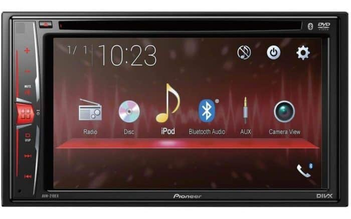 Pioneer vs Alpine double DIN receivers: AVH-210EX is a great budget pick if you don't mind no wireless support and slightly older screen tech.