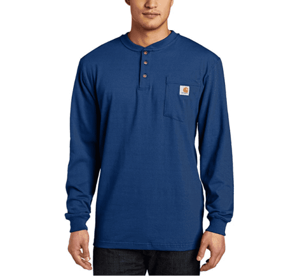 Carhartt Henley Shirts: more design than most other brands, including Berne