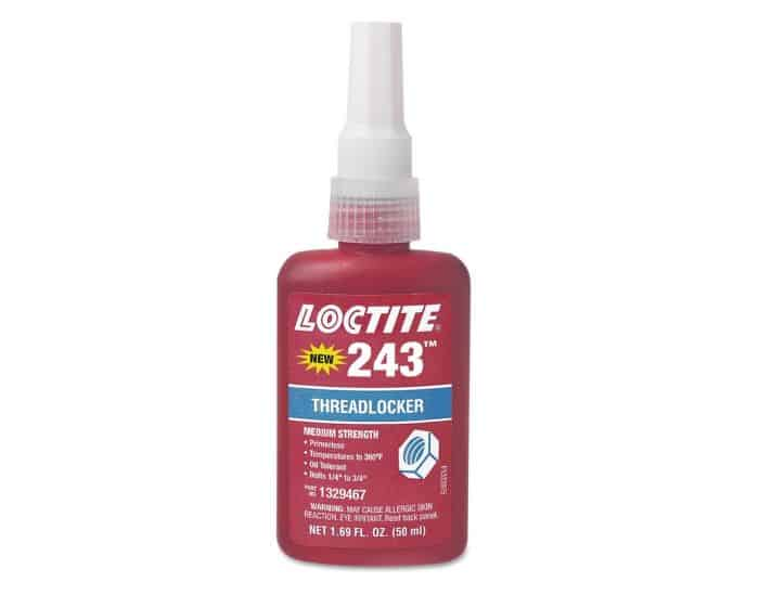 Loctite 242 vs 243: A good reason why the newer 243 threadlocker is better