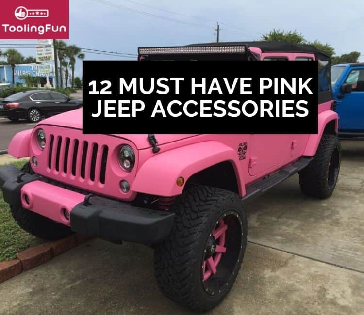 12 gorgeous, must have pink Jeep accessories
