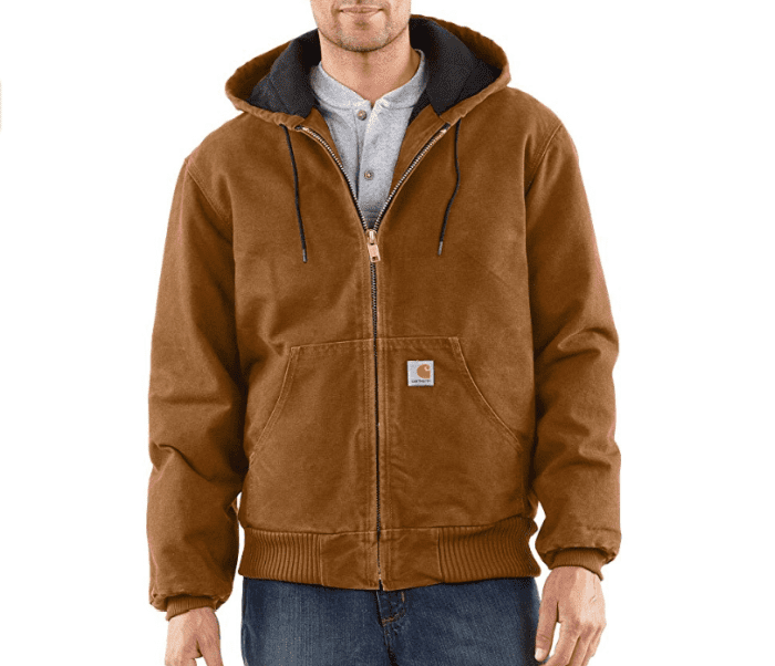 Carhartt j130 vs j140: One big difference to note is the actual duck construction in these two jackets.