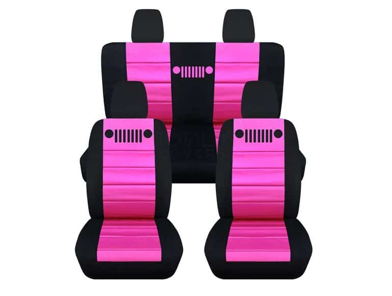 11 absolutely amazing accessories to turn your Jeep interior pink.