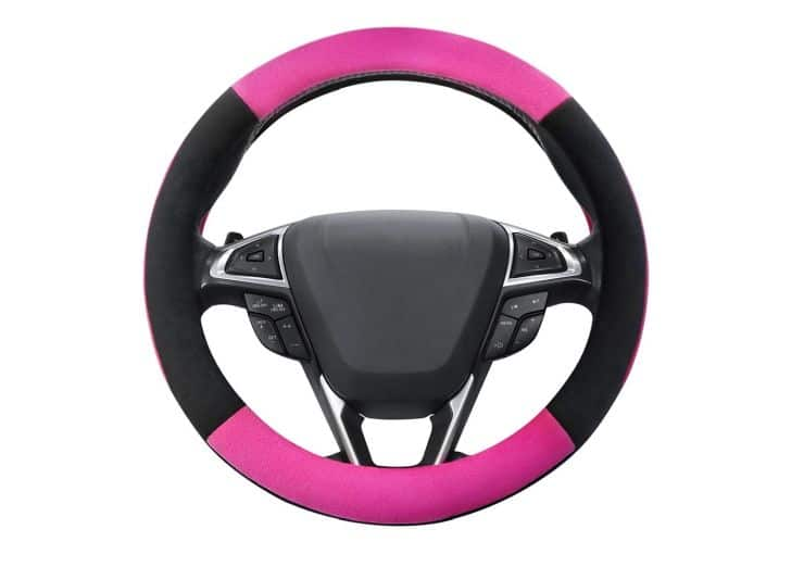 Pink Jeep wheel cover - a part of my list for cool Jeep accessories for women.