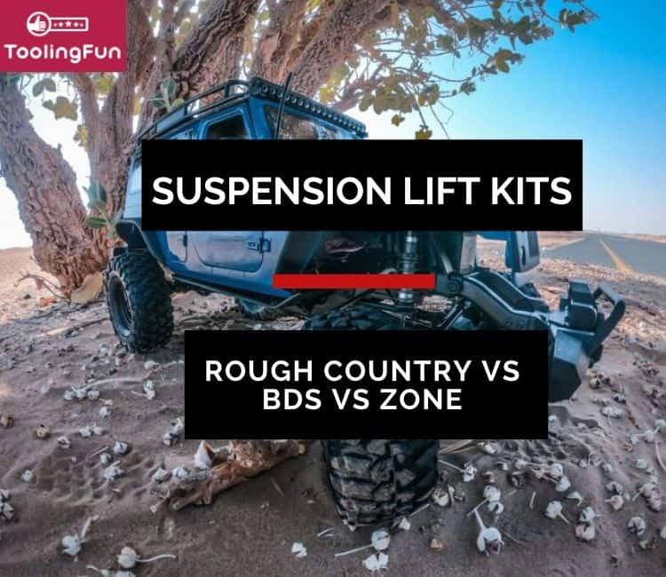 Rough Country vs BDS vs Zone Suspension Lift Kits