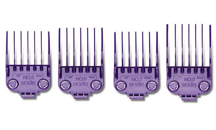 Do Andis purple guards fit Oster Fast Feeds? Yes, as long as you get these.