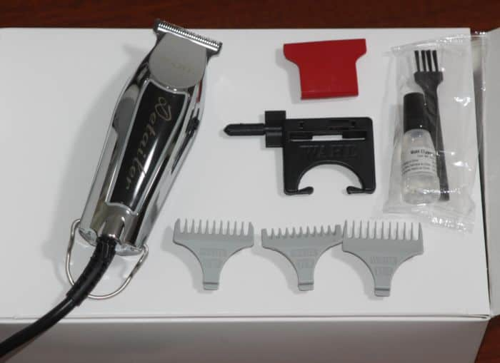 Wahl #8290 accessories - including combs for the trimmer. Part of my Wahl Detailer (cordless #8171 and corded) vs Retro T Cut #8412 review.