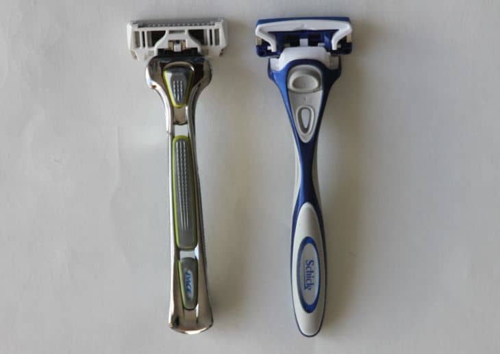 Dorco vs Schick: Handles differ, as well as the overall feeling.