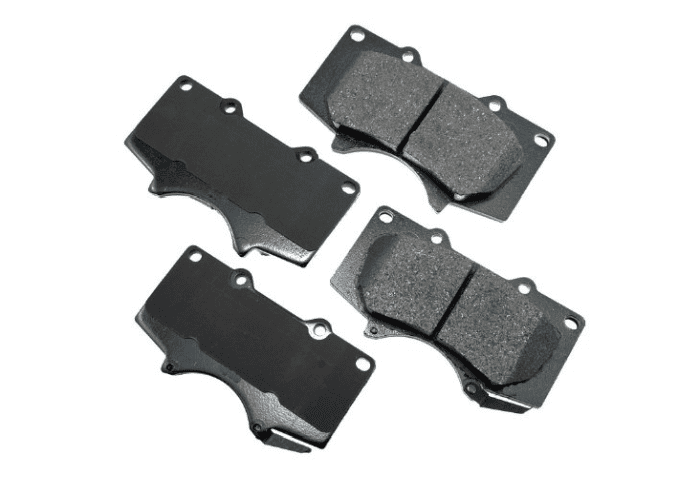 Best brakes for Toyota Tundra, Tacoma & 4Runner if you want street driving/onroad performance would be these Akebonos.