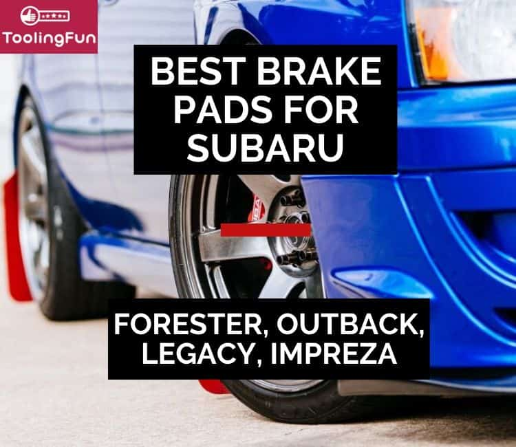 Best Brake Pads & Rotors for Subaru: Select models