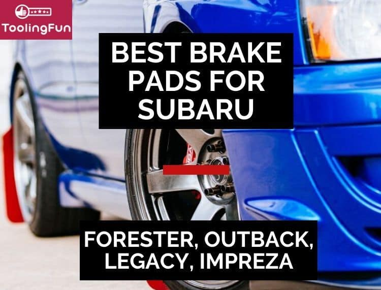 What are the best brake pads and rotors for Subaru cars? Dive into my review for Forester, Impreza or WRX, Legacy (GT too) and Outback.