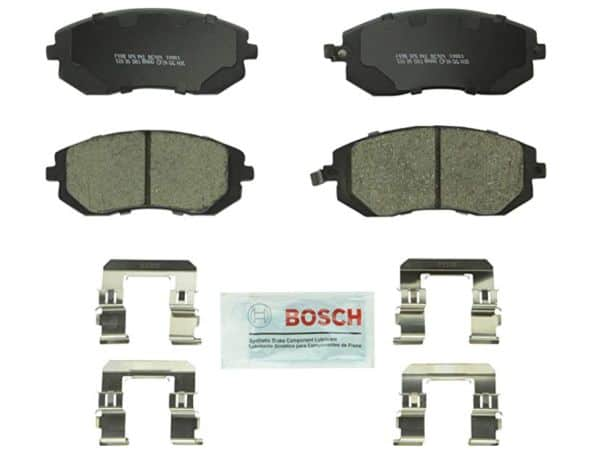 Best brake pads and rotors for Subaru daily driver: On your Legacy or Impreza, get the affordable Bosch Quietcast.