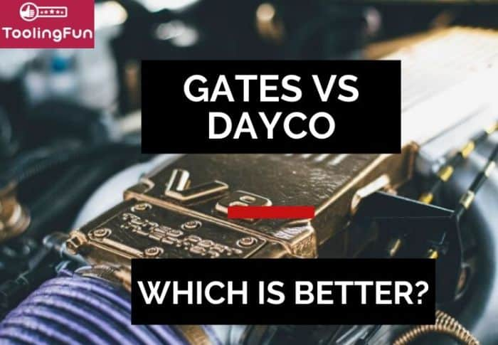 Gates vs Dayco: Serpentine belts, radiator hoses and timing belt kits. Here's a quick review on them.