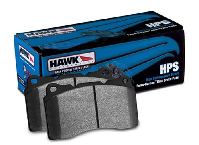 One of the best performance brake pads for Subaru Forester, Outback or Impreza are Hawk HPS.