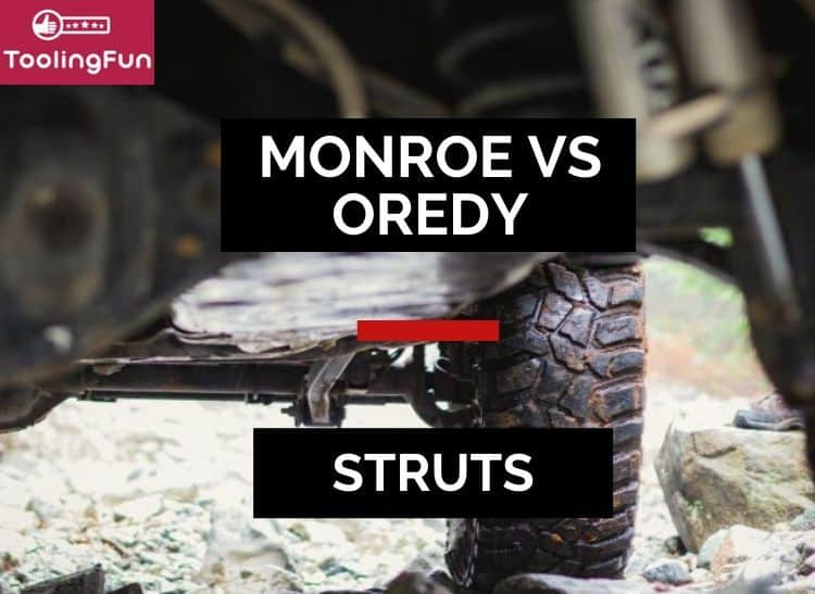 Oredy Struts vs Monroe Quick Strut assembly: Here's a review that outlines several key differences.