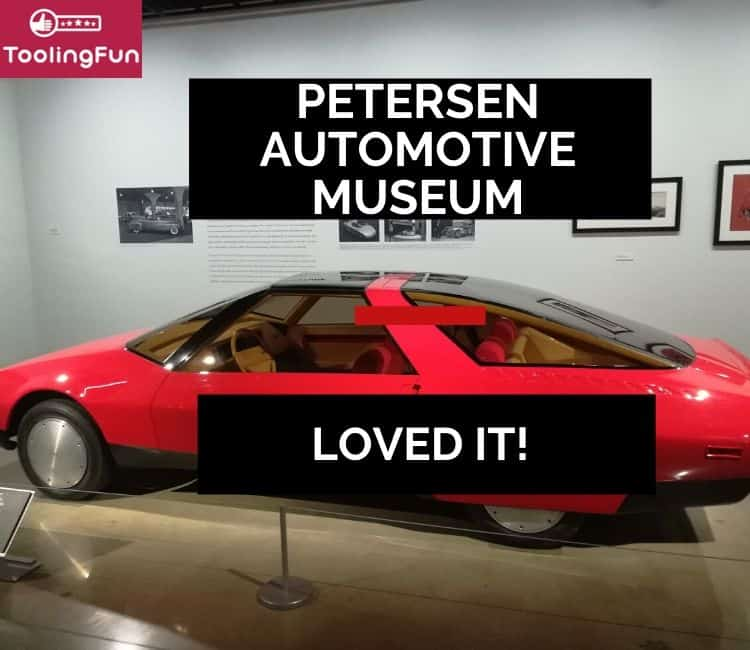A visit to the Petersen automotive museum: What a place!