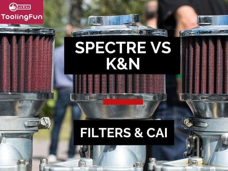 Spectre vs K&N Filters and Cold Air Intakes: A review that also talks about AirCharger, Spectre Performance, K&N Blackhawk and Typhoon.