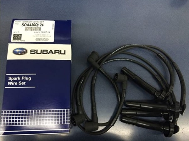 Best spark plug wires for Subaru: This is a good OEM kit for Forester, Legacy and others from the manufacturer themselves.