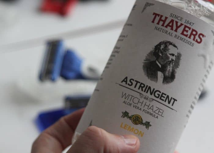 Thayer's Witch Hazel - Astringent Lemon, has been the best skin toner I've used after shaving my head. No razor bumps, no irritation.