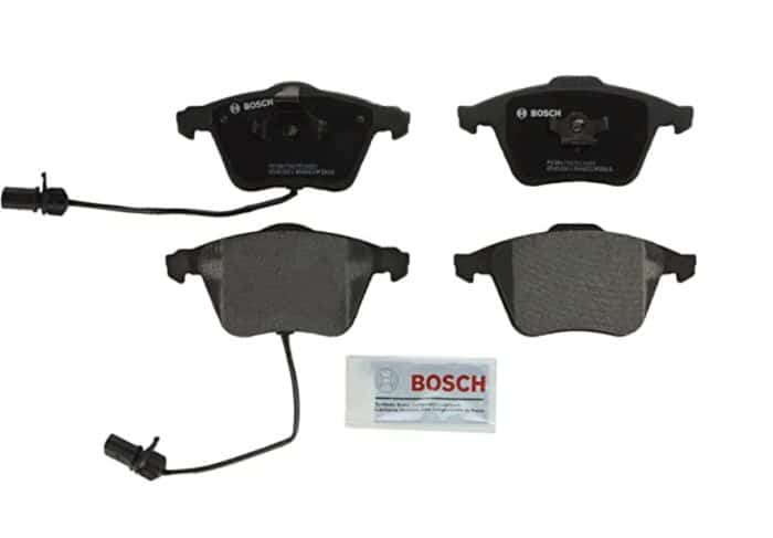 Best budget brake pads and rotors for Audi A4, A6 or A3: Bosch QuietCast, a very nice option with few drawbacks.